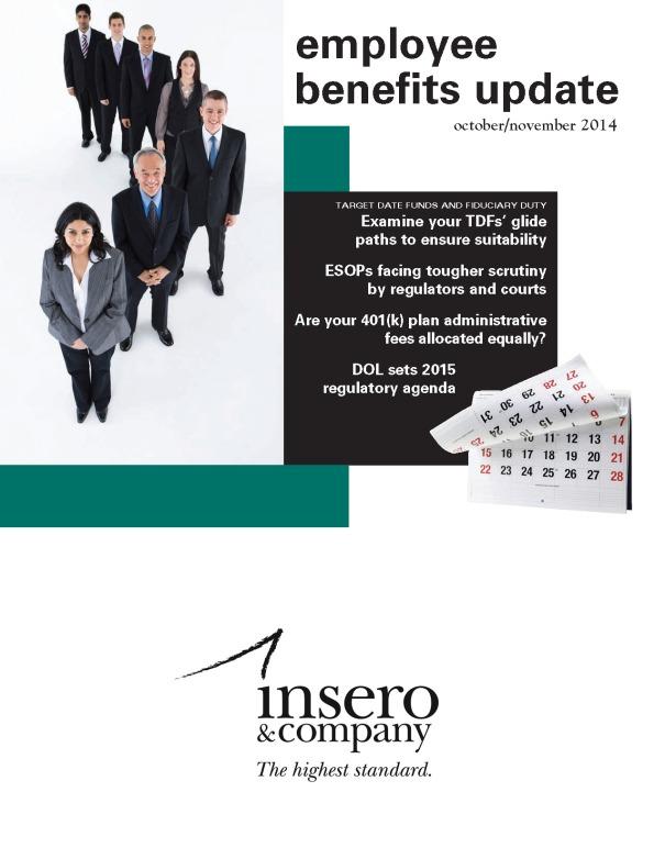 Employee Benefits Update October/November 2014